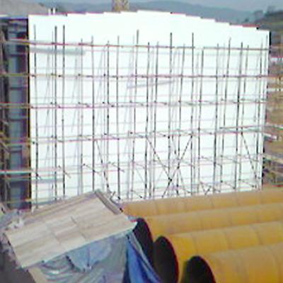 河市齐鲁石化钢结构施工现场