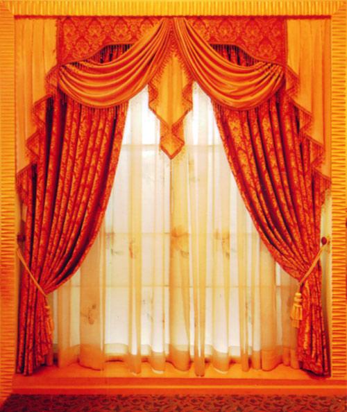 欧式窗帘2-窗帘布艺-名纱纺窗帘布艺