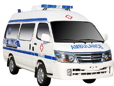 金杯阁瑞斯救护车高清图片