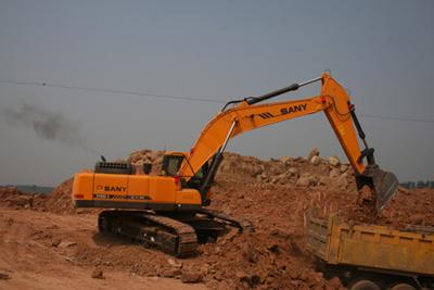 挖掘机装车游戏