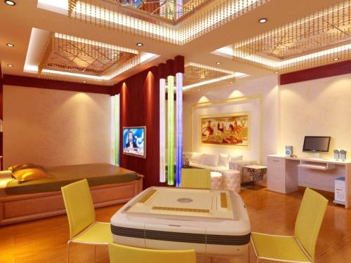 茶楼包间-四川省一木文装饰设计公司|大竹装饰公司