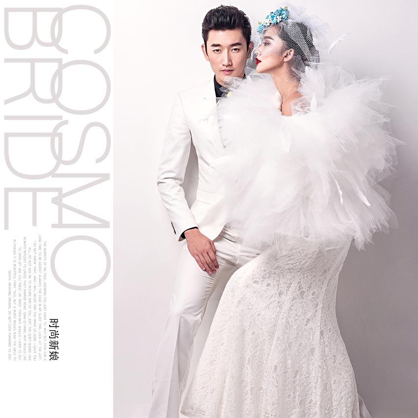 像明星一样,做一个时尚新娘,做一个封面新娘.图片