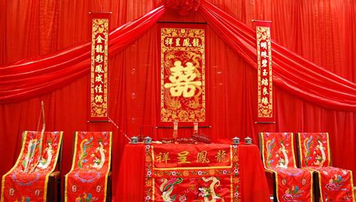 中式婚礼-渠县婚庆公司|唯爱婚庆**婚纱摄影图片
